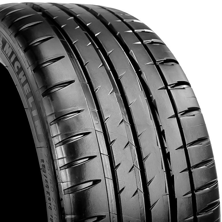 michelin pilot sport 4s 225 40r18 zr 92y used tire 8 9 32 ebay. Black Bedroom Furniture Sets. Home Design Ideas